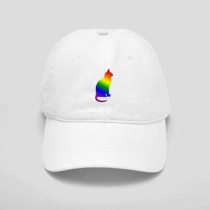 Rainbow Gay Pride Cat Cap