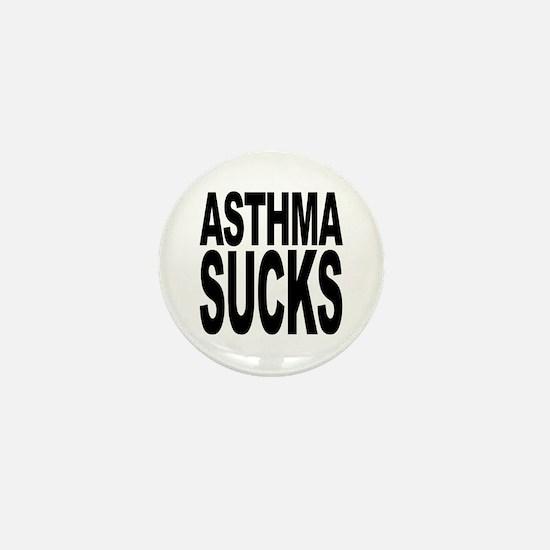 Asthma Sucks Mini Button (10 pack)