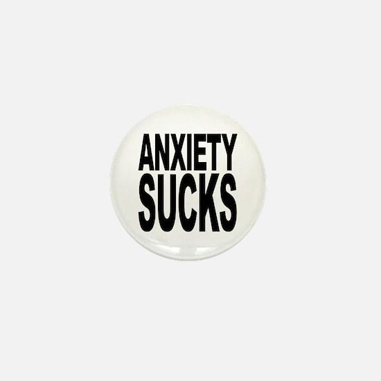 Anxiety Sucks Mini Button