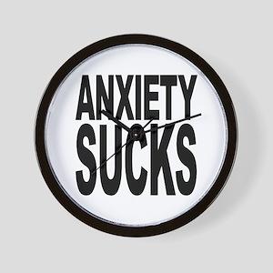 Anxiety Sucks Wall Clock