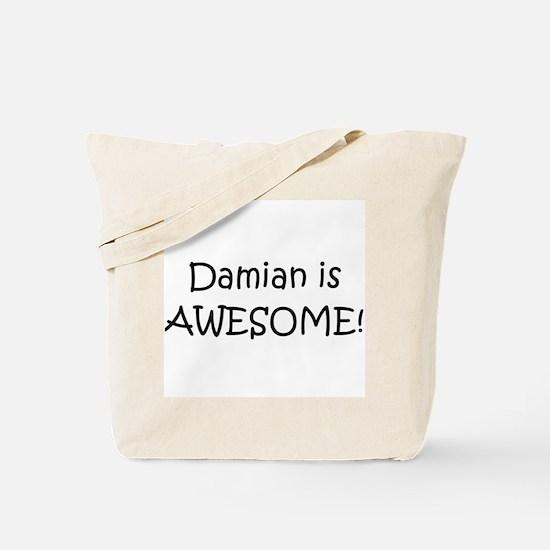 Unique Damian Tote Bag