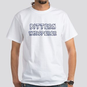 Bittern Whisperer White T-Shirt