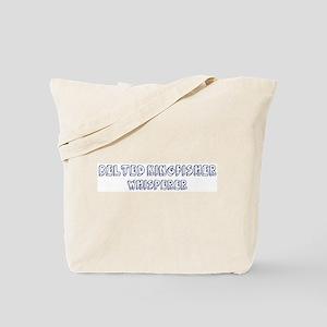 Belted Kingfisher Whisperer Tote Bag