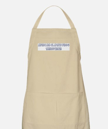 African Clawed Frog Whisperer BBQ Apron