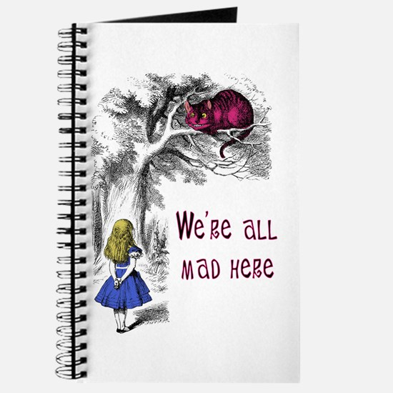 We're All Mad Here Journal