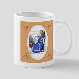 White Rabbit, Come Back! Mug
