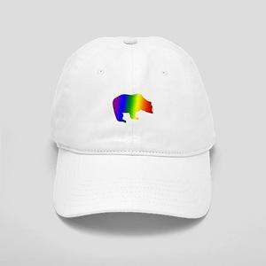 Rainbow Gay Pride Bear Cap