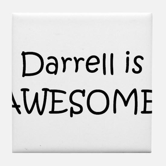 Cute Darrell Tile Coaster