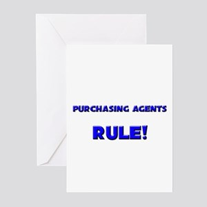 Purchasing Agents Rule! Greeting Cards (Pk of 10)