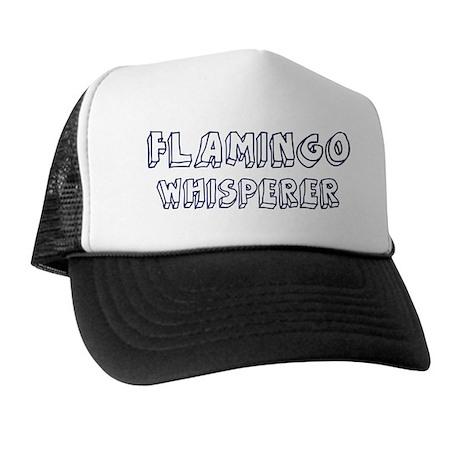 Flamingo Whisperer Trucker Hat