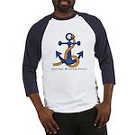 Masonic US Navy Anchors Away Baseball Jersey