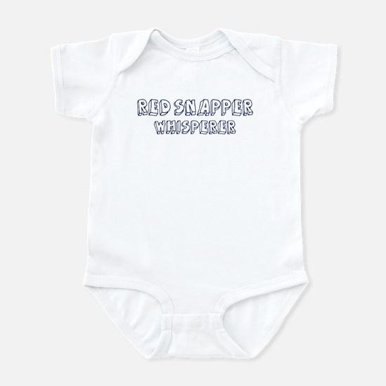 Red Snapper Whisperer Infant Bodysuit