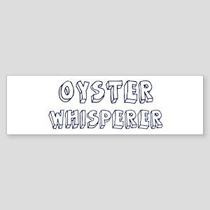Oyster Whisperer Bumper Sticker