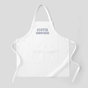 Oyster Whisperer BBQ Apron