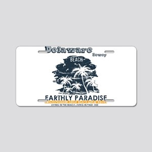 Delaware - Dewey Beach Aluminum License Plate