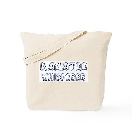 Manatee Whisperer Tote Bag