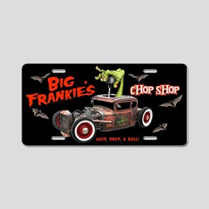 BF Chop Shop2 Aluminum License Plate