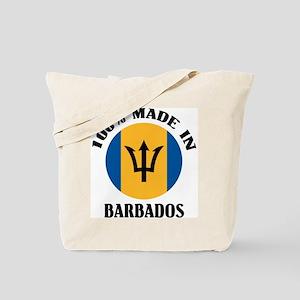 Made In Barbados Tote Bag