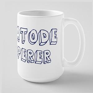 Nematode Whisperer Large Mug