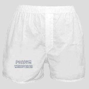 Possum Whisperer Boxer Shorts