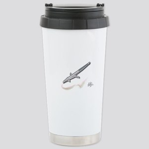 Stainless Steel Travel Mug with the artist in mind