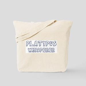 Platypus Whisperer Tote Bag