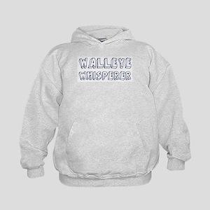 Walleye Whisperer Kids Hoodie
