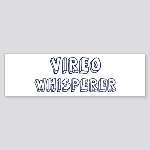 Vireo Whisperer Bumper Sticker (10 pk)