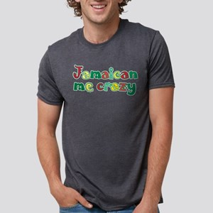 Jamaican Me Crazy Mens Tri-blend T-Shirt