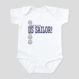 Proud of my Sailor Infant Bodysuit