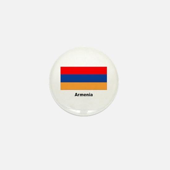 Armenia Armenian Flag Mini Button