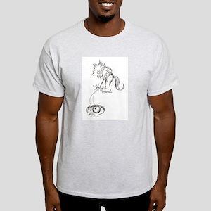 Golf Cat Light T-Shirt