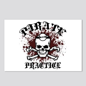 Pirate Practice Postcards (Package of 8)