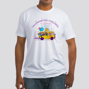 Transporting Children To Thei Fitted T-Shirt