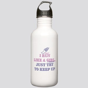 Run Like A Girl Stainless Water Bottle 1.0L