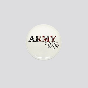 Army Wife (Flag) Mini Button