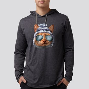 Cat Kitty Kitten In Clothes Av Long Sleeve T-Shirt