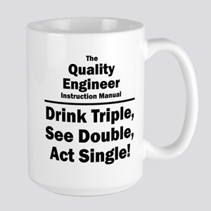 Quality Engineer Large Mug