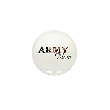 Army Mom (Flag) Mini Button (10 pack)