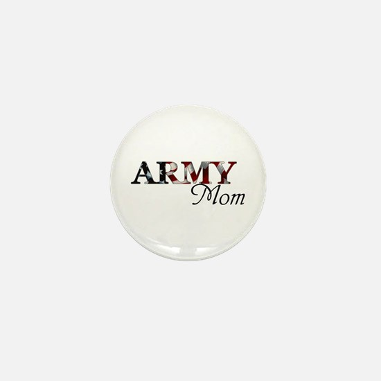 Army Mom (Flag) Mini Button