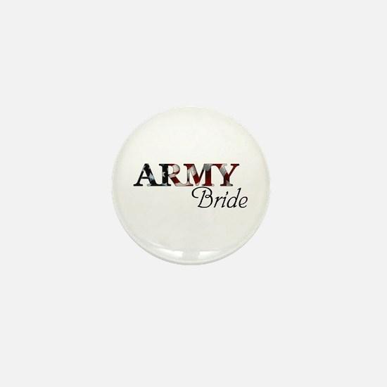 Army Bride (Flag) Mini Button