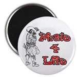 Pirate For Life Magnet