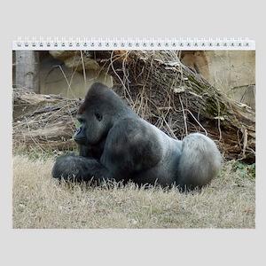 Gorilla 006 Wall Calendar