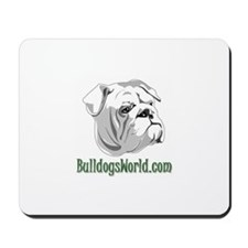Green Logo Mousepad