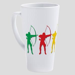Archery Archers 17 Oz Latte Mug