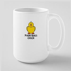 Paintball Chick Large Mug
