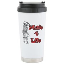 Pirate For Life Stainless Steel Travel Mug