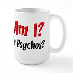 What Am I? Large Mug