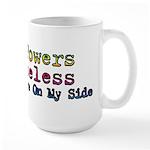 Your Powers Are Useless Large Mug