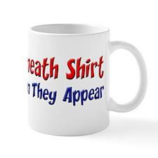Objects Beneath Shirt Mug